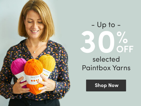 Up to 30 percent off selected Paintbox Yarns!