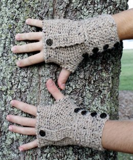 Weathertop Fingerless Mitts