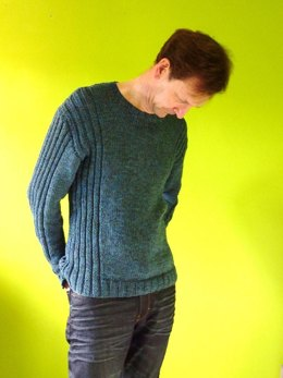 Colum  - Man's Ribbed Sweater