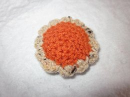 Mini Pumpkin Pie Cat Toy
