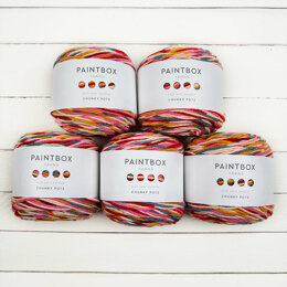Paintbox Yarns Chunky Pots 5 Ball Value Pack