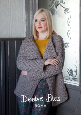 Arden Jacket in Debbie Bliss Roma - DBS026 - Downloadable PDF