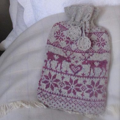 Nordic Hot Water Bottle Cover