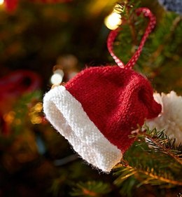 Santa Hat Christmas Tree Decoration