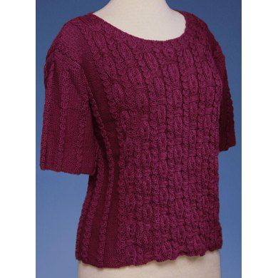 Ornamental Rib Pullover in 2 Sleeve Lengths #143