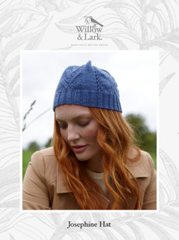"""Josephine Hat"" - Hat Knitting Pattern For Women in Willow & Lark Ramble-5"