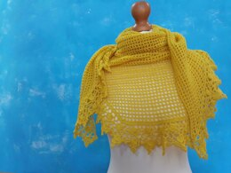 Summer Break Shawl