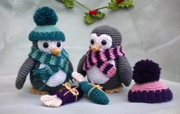 Penguins with Parcels