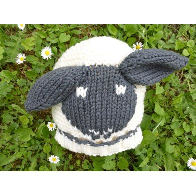 Little Sheep Hat for Babies