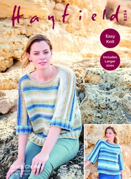 Sweater in Hayfield Spirit Chunky - 8254 - Downloadable PDF