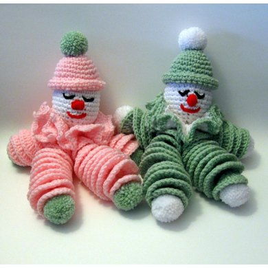 Clownie The Crocheted Clown Doll Crochet Pattern By Many Creative