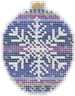 Mill Hill Royal Snowflake Ornament Cross Stitch Kit
