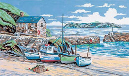 Anchor Mullion Cove - Cornwall Tapestry Kit