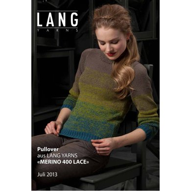 Pullover in Lang Yarns Merino 400 Lace