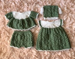 Wavy Edged Dress Set (55)