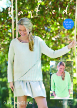 Woman's Tops in Hayfield Sundance DK - 8141 - Downloadable PDF