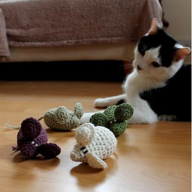 Hampton the Mouse (cat toy)