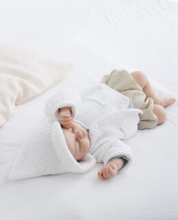 Vicky Coat in Phildar Phil Baby Doll - Downloadable PDF