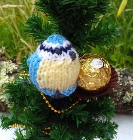Blue Tit - Easter Chocolate Cover