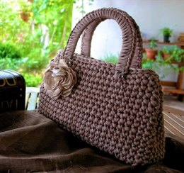 Posh Handbag Mirjana S in Hoooked Zpagetti Solids