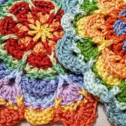 Flower Puddles (Motif and Granny)