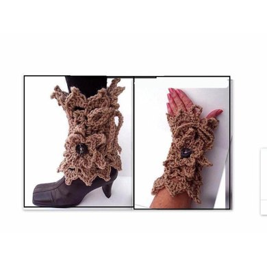 759 Lacy Leg Warmers or Arm Warmers