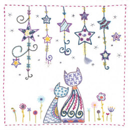 Un Chat Dans L'Aiguille Under The Stars Embroidery Kit