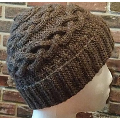 Cable Coronet Hat