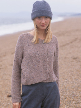 Mist Cardigan in Rowan Felted Tweed