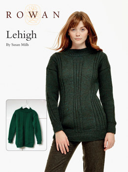 Lehigh Sweater in Rowan Pure Wool Worsted