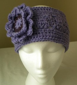Pinwheel Headband with Flower