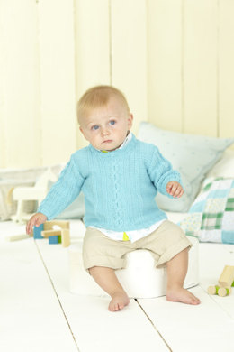 Baby's and Boy's Sweaters in Sirdar Snuggly DK - 4442