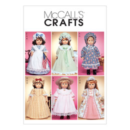McCall's 18 Doll Clothes M3627 - Sewing Pattern