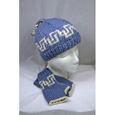 Interlachen Hat & Mitts