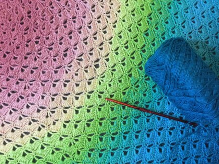 Lotus Flower Blanket Crochet Project By Sarah T Lovecrafts