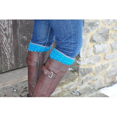 Bobble Boot Cuffs