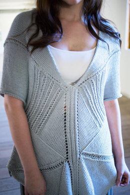 Hacek Sweater in Berroco Modern Cotton - PDFNG14-9