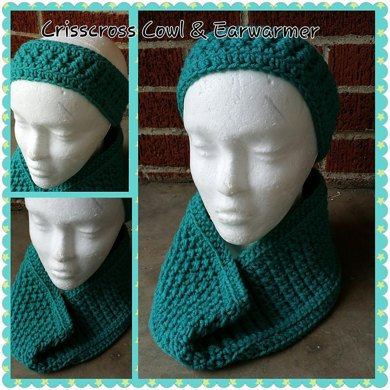 Crisscross Cowl & Ear Warmer