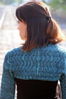 Light Bell Sleeve Shrug