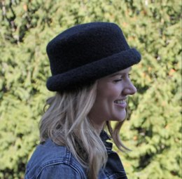 Felted Bowler Style Hats 1723