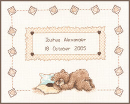 Vervaco Counted Cross Stitch Kit Popcorn Sleeps