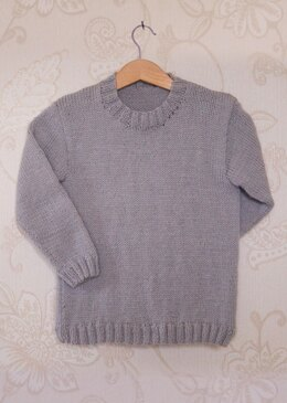 Interchangeable Picture Chart - DK Childrens Base Sweater