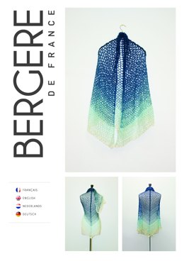 Shawl in Bergere de France Unic - Downloadable PDF