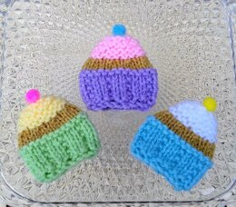 Spring Cupcakes - Creme Egg Covers
