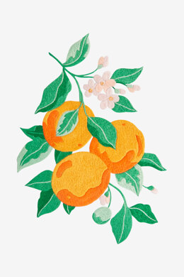 Orange Blossom in DMC - PAT0605 - Downloadable PDF