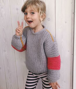 Tell me a Story Sweater for Kids