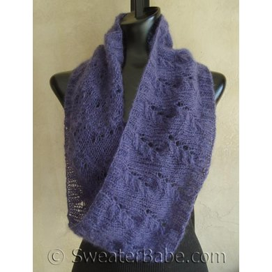 104 Mohair Lace Mobius Cowl Knitting Pattern By Sweaterbabe