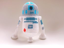 R2D2 STAR WARS -  amigurumi pattern