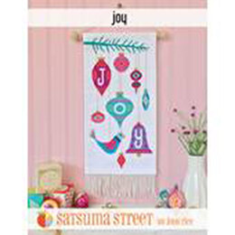 Satsuma Street Joy Cross Stitch Chart -  Leaflet