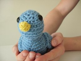 Amigurumi Georgina the Tiny Bird